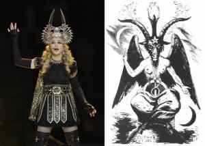 Madonna-Super-Bowl-Baphomet